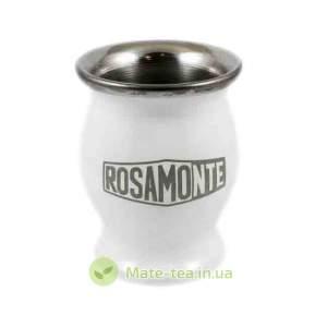 Калабас Rosamonte алюмінієвий білий - 200мл