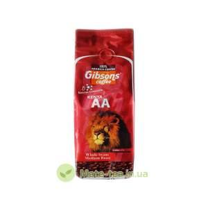Кенійська кава Gibson Kenya AA мелена (середня обжарка) - 250 грам