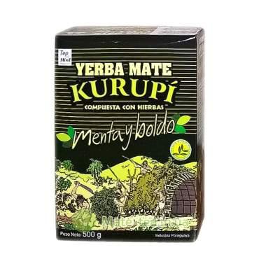 Йерба матэ Kurupi Compuesta Especial Menta Boldo - 500 грамм